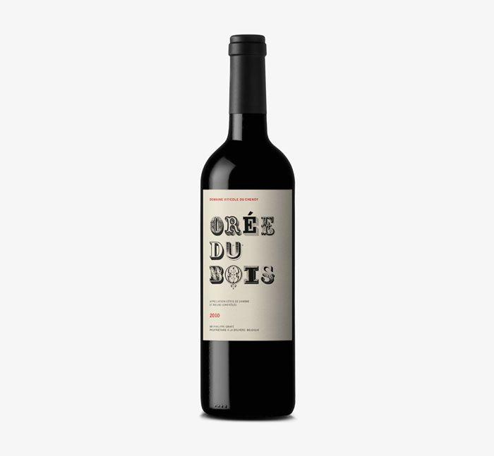 Orée du Bois Wine Label (Belgique) -  Dorian (Espagne)