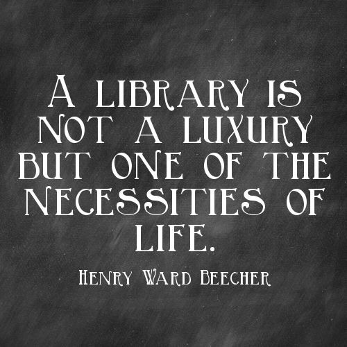 Library Quotes Best 16 Quotes To Remind You How Much You Love The Library  Books