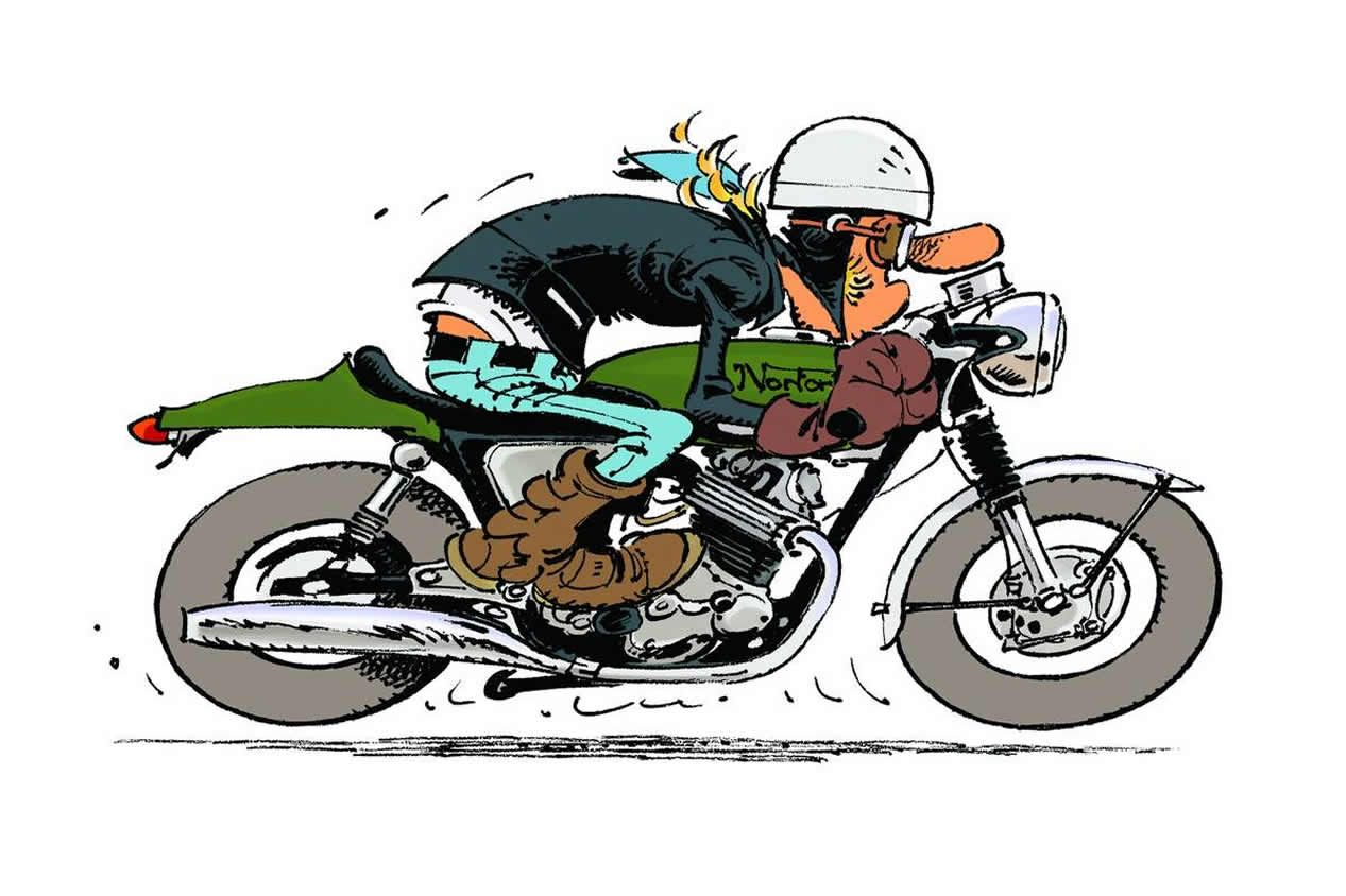 Joe bar team 1 267 844 pixels mouvement bd - Dessin humoristique motard ...