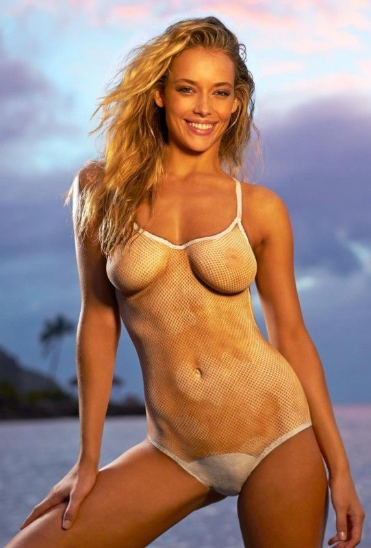 Hannah Ferguson Sexy 4x6 8x10 Nude Body Paint Photo Shoot Promo Photo!!  Hf019 from  6.95 83939d3db