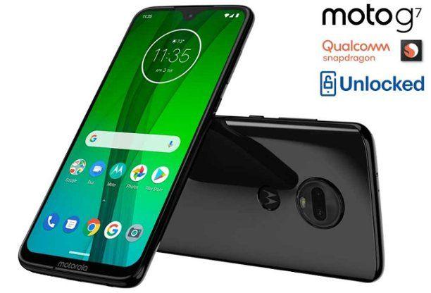 Cell phones, unlocked, qualcomm snapdragon, moto g 7 | home
