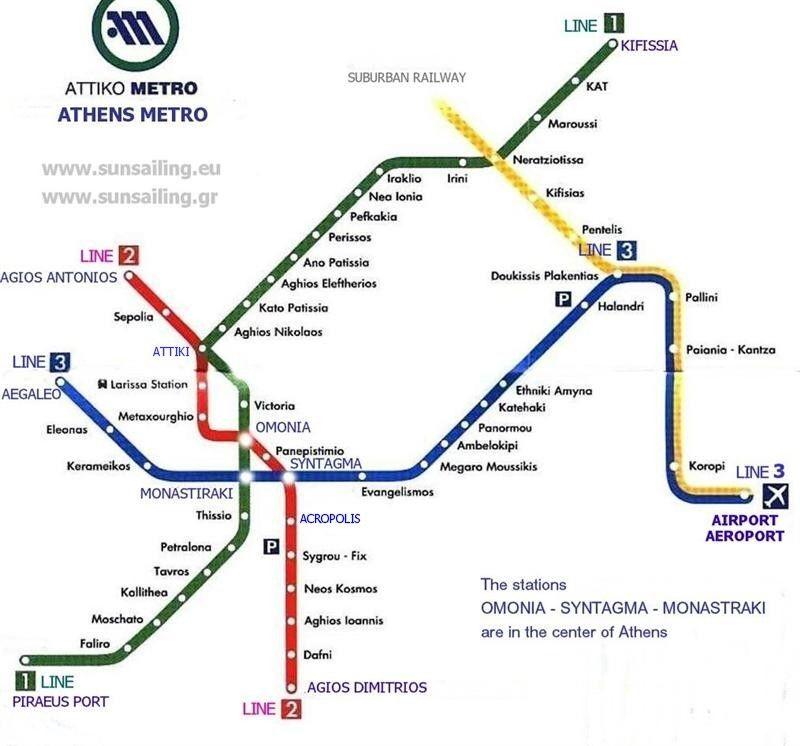 Piraeus Cruise Port Guide Athens Greece Athens Metro