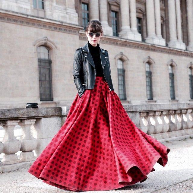 The skirt that Parisian dreams are made of @talbotrunhof  @fredcip #mmworldtour #pfw #paris
