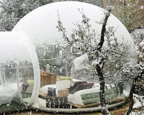 Des igloos de jardin garden igloo for Igloo de jardin
