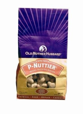 WELLPET DOG TREAT - OLD MOTHER HUBBARD DOG BISCUITS P-NUTTIER - 5 OZ MINI - WELLPET, LLC - UPC: 76344100102 - DEPT: WELLPET