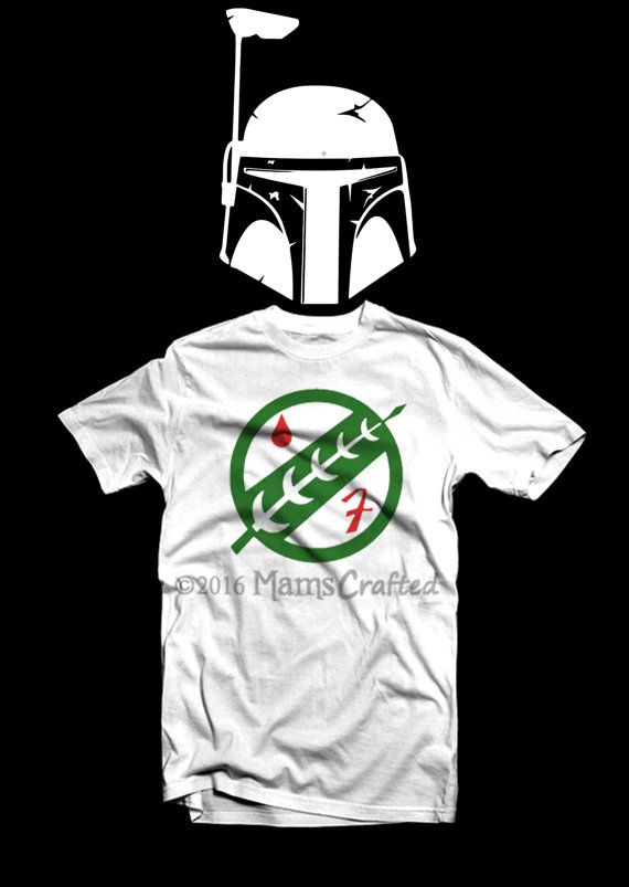 678948abccffe5 Boba Fett Mandalorian Bounty Hunter T-Shirt | Youth and Adult | Geek  Clothing | Star Wars Shirt | Geek T-Shirt | Geek Gift by MamsCrafted