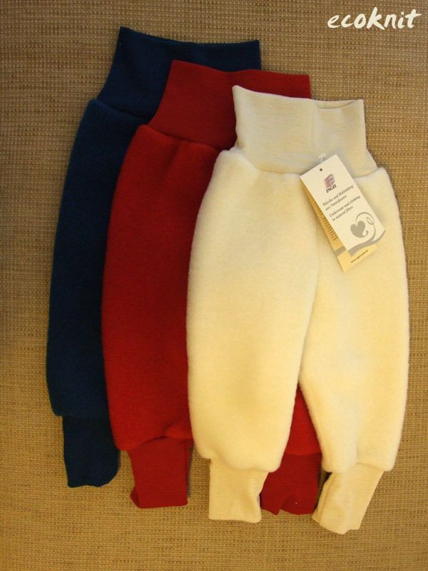 c39b8878a20a ENGEL 100% merino wool organic fleece baby pants longies