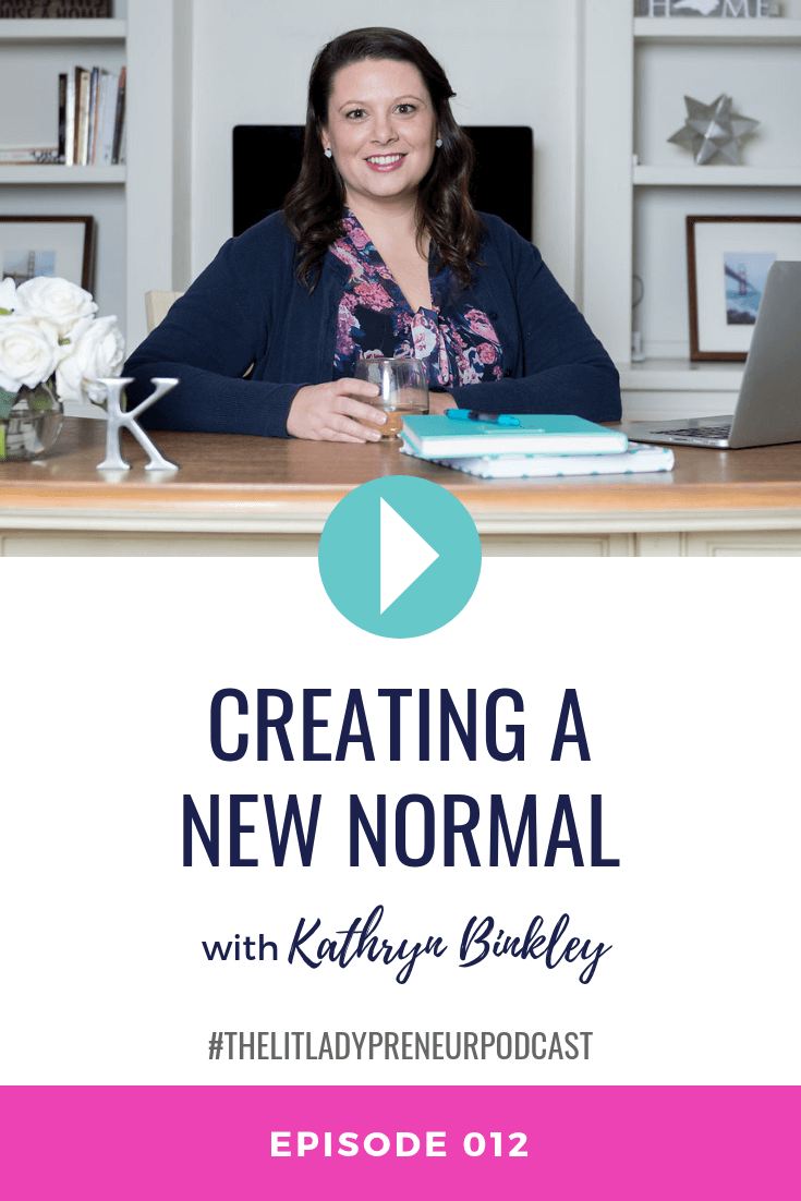 Episode 012 Creating A New Normal Episodes Podcasts News