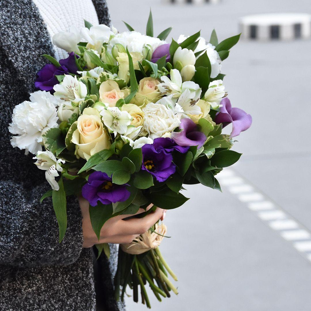 Avec Son Doux Parfum De Freesias Ce Bouquet Parfume Fera Un Tres