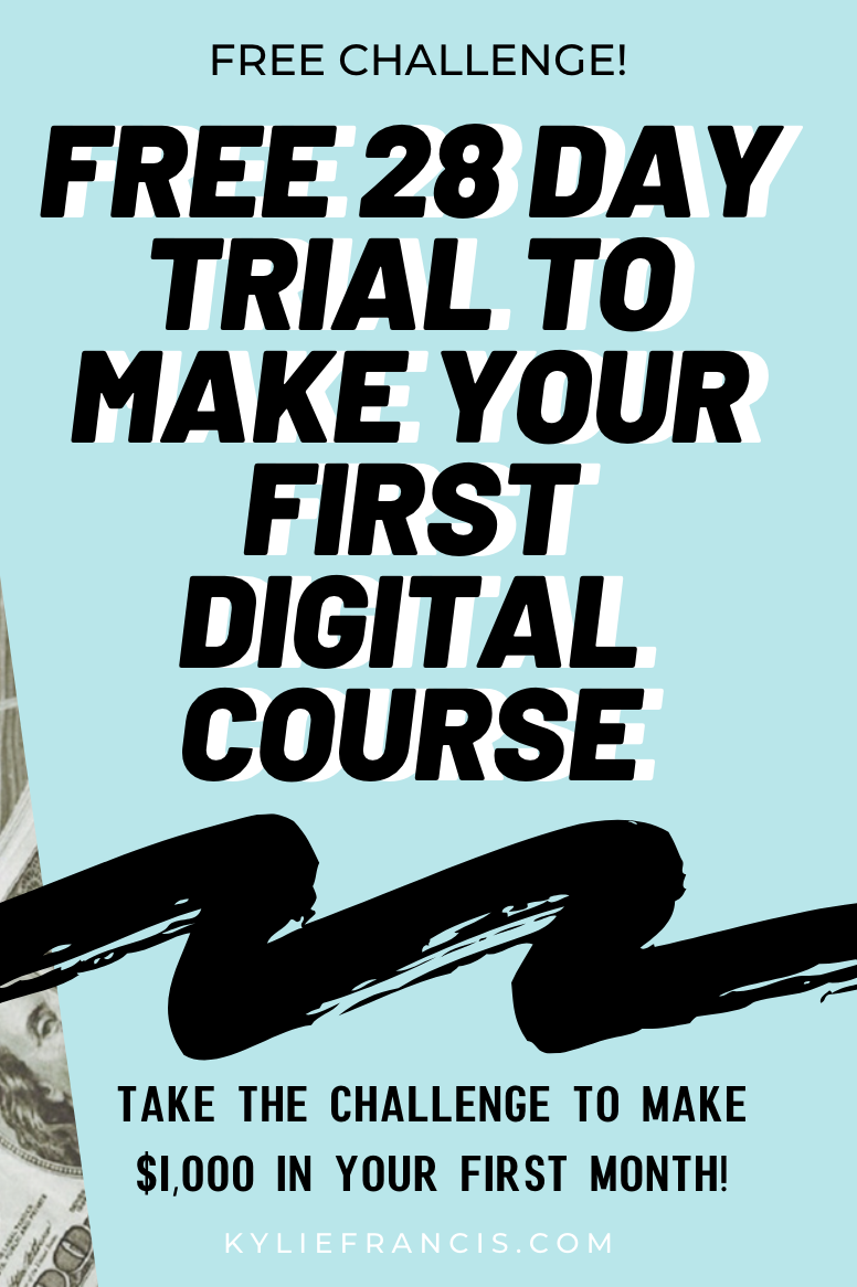 Pinterest Kyliieee Free 28 Day Trial Of Kajabi To Make Your First Digital Course P Website Tutorial Social Media Marketing Facebook Pinterest For Business