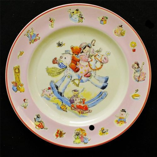 Charming Aynsley China Nursery Rhyme Collection Plate