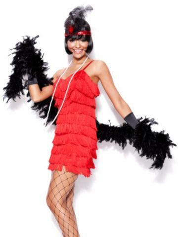 channel old hollywood glamour with a stunning feather boa halloween costumes - Stunning Halloween Costumes