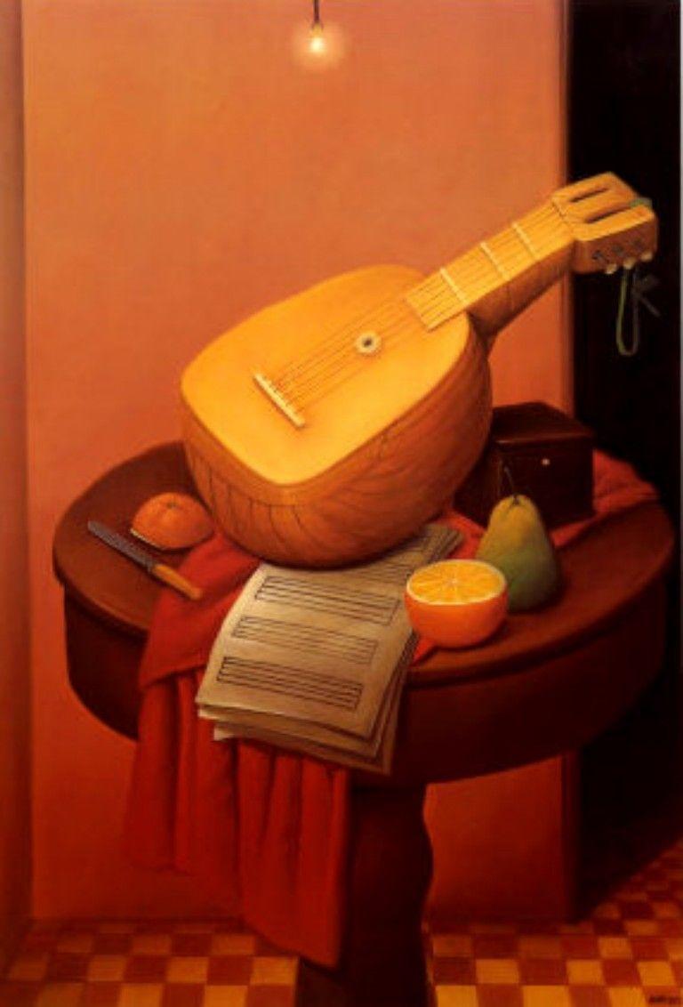 Resultado de imagen de Botero mandolina 1956