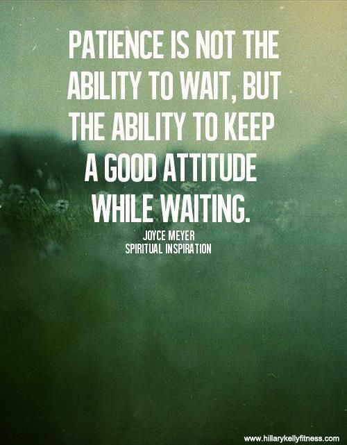 Keep The Good Attitude While Waiting.#Motivation #Inspiration #Workout # Exercise #