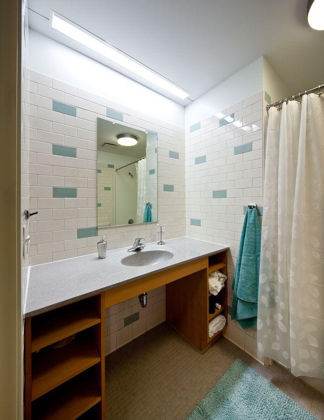 Shsu Lone Star Dorm Room Bathroom