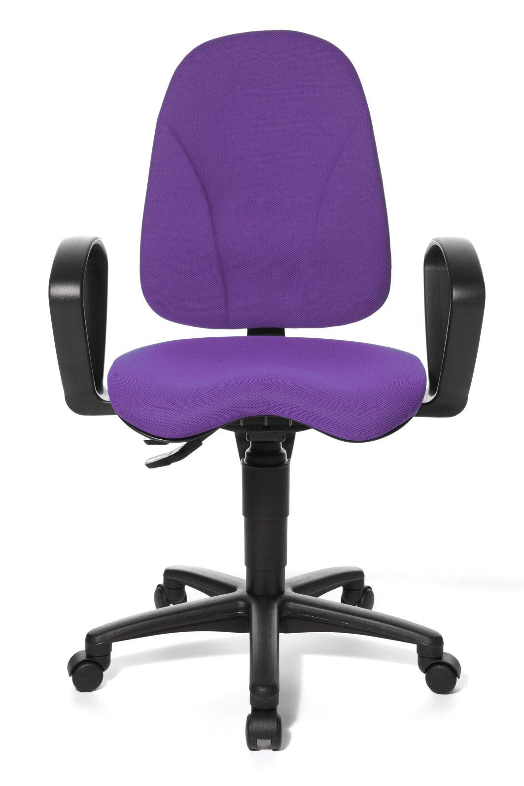 Purple Swivel Chair Safety First Folding Table And Chairs Topstar Point 40 Comfort Office With Orthopedically Shaped Seat A Real Bargain At 53 18 Per Normally Mid Range Task Operator