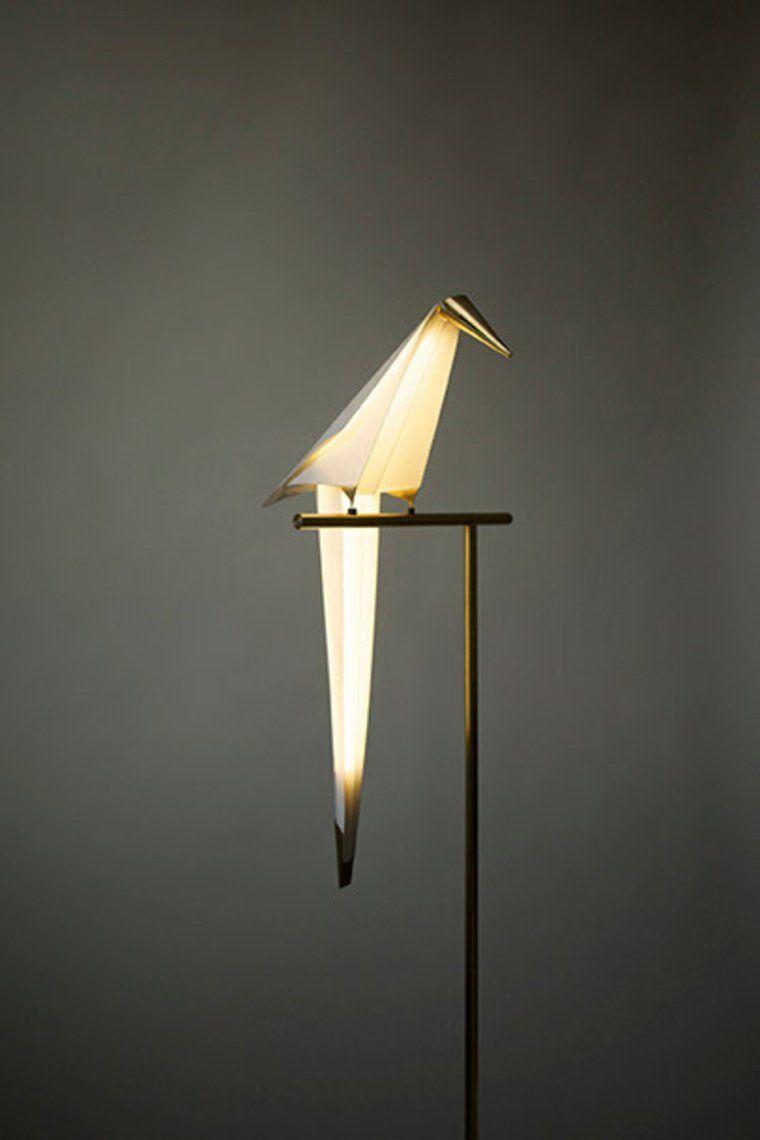 Lampe origami : élégante, intemporelle et design | Oiseau en ... - Lampe Oiseau