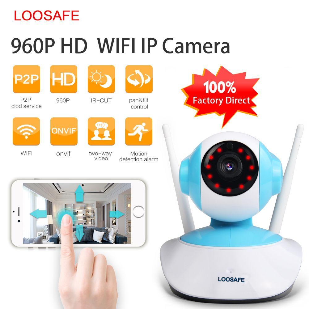 LOOSAFE P IP Camera WIFI Home Security Indoor Cam Surveillance