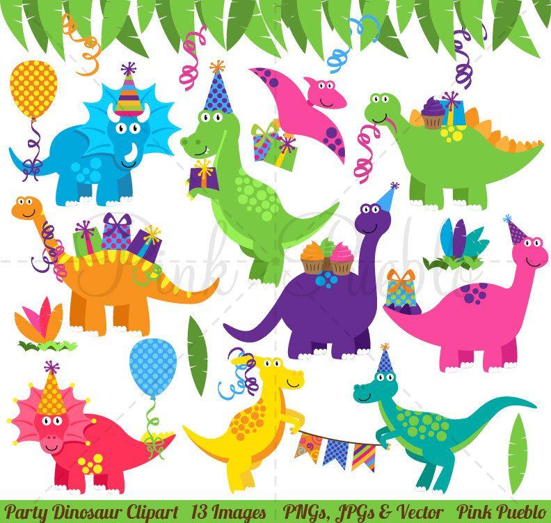 Dinosaur Birthday Clipart Dinosaur Birthday Clip Art Dinosaur