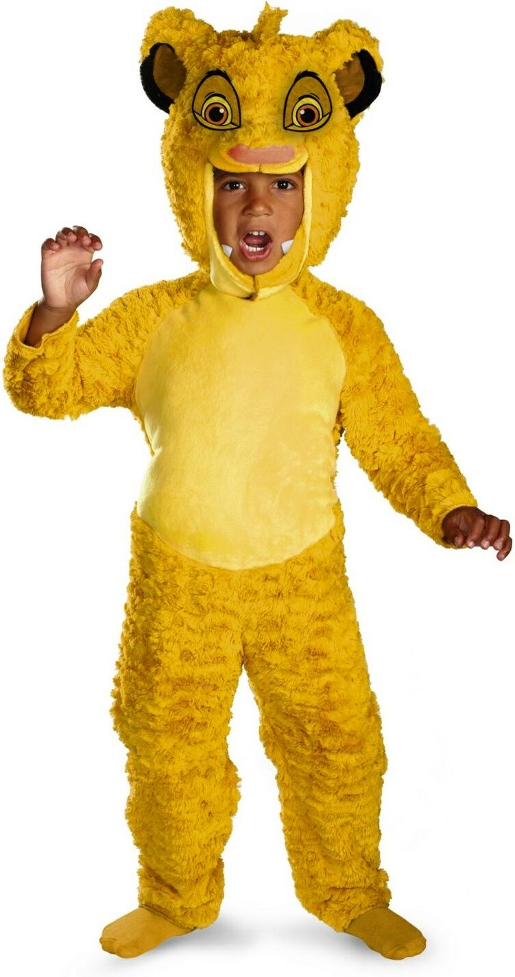simba costume for kids from disney land
