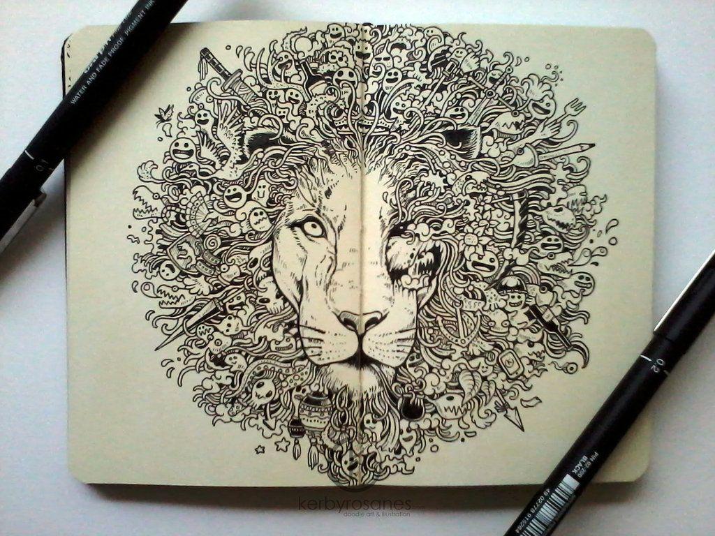 Random Doodles By Kerby Rosanes