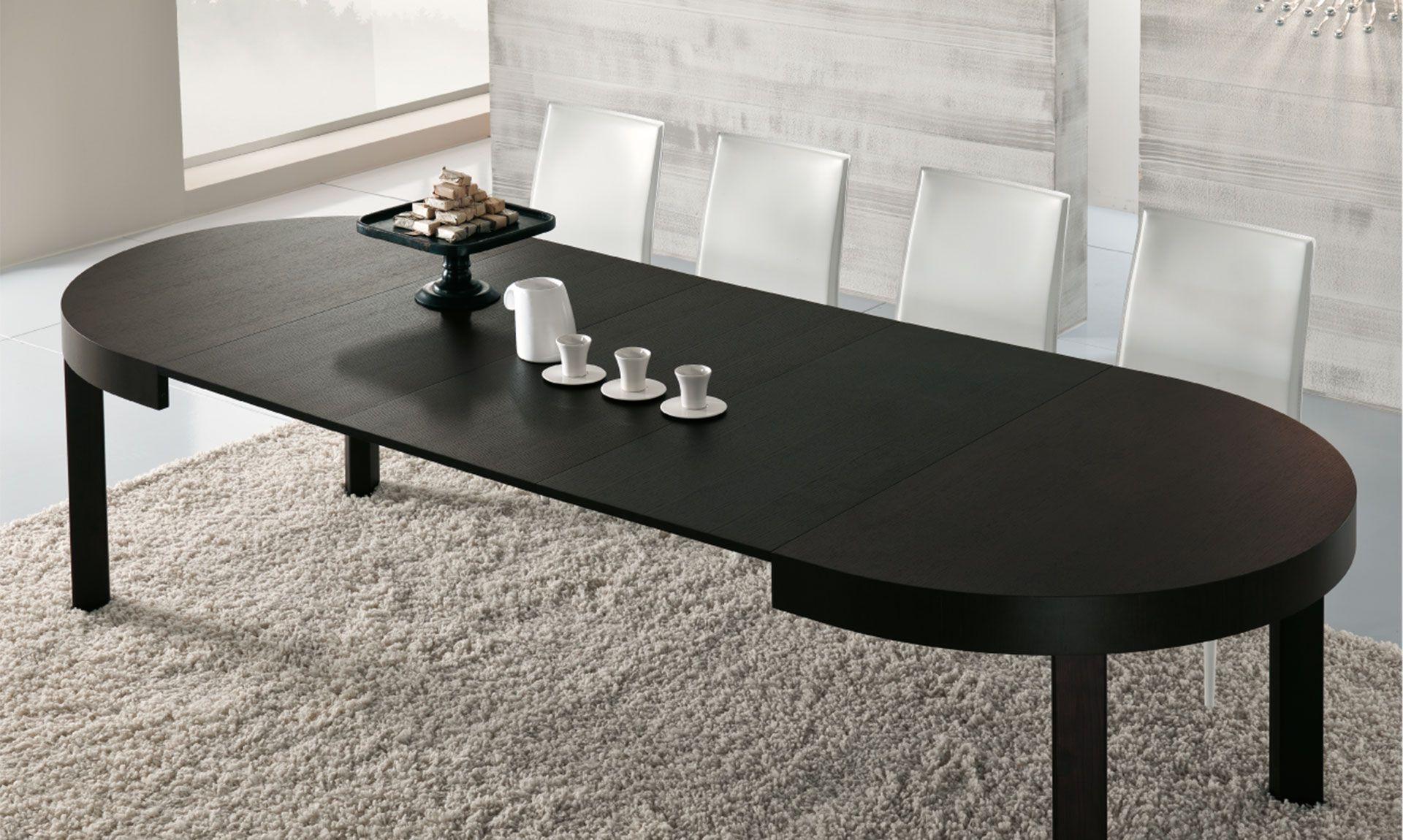 Tavolo minimal ~ Tavolo rotondo zed zed è il tavolo rotondo che diventa oblungo