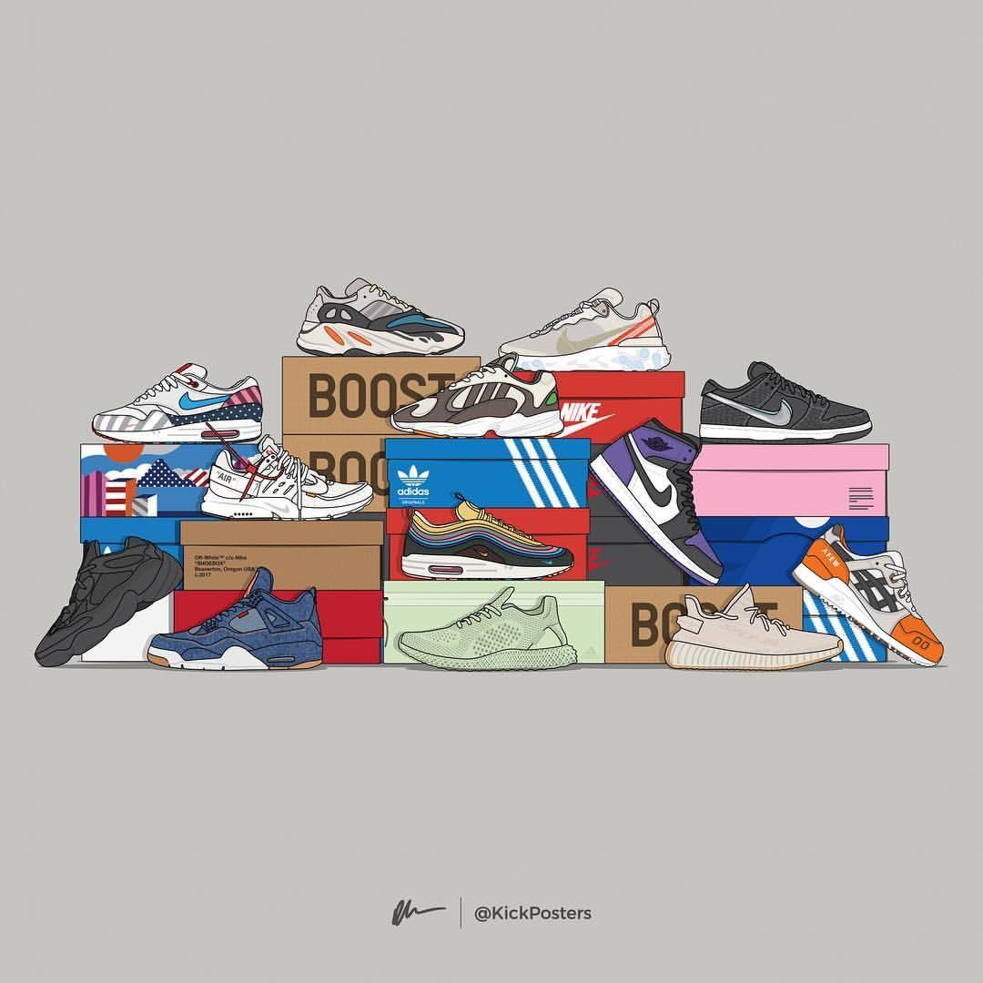 Sneaker posters