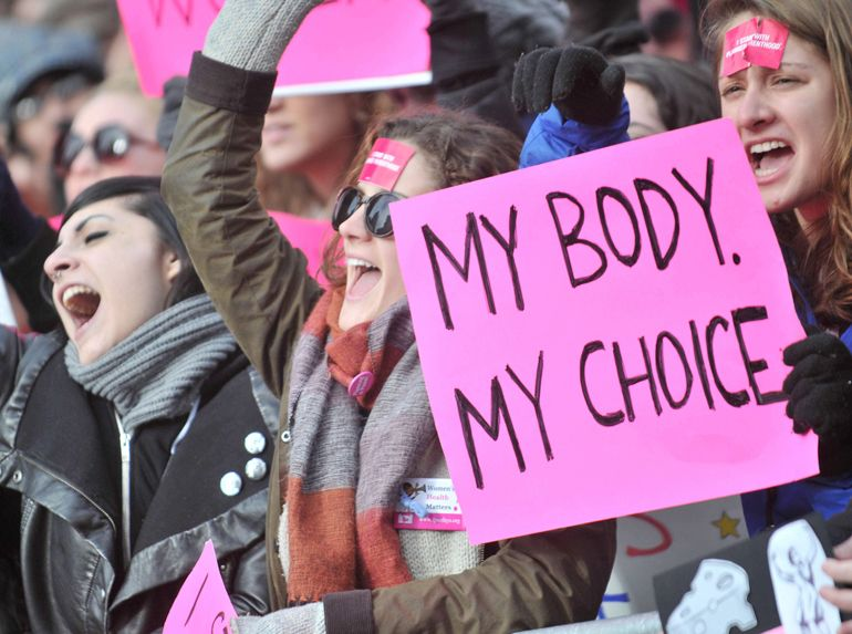 In April 1992, abortion rights supporters were organizing, as the Supreme Court got set to rule on a challenge to Roe v. Wade.