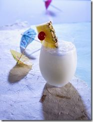 Pina Colada and Cool Summer Drinks