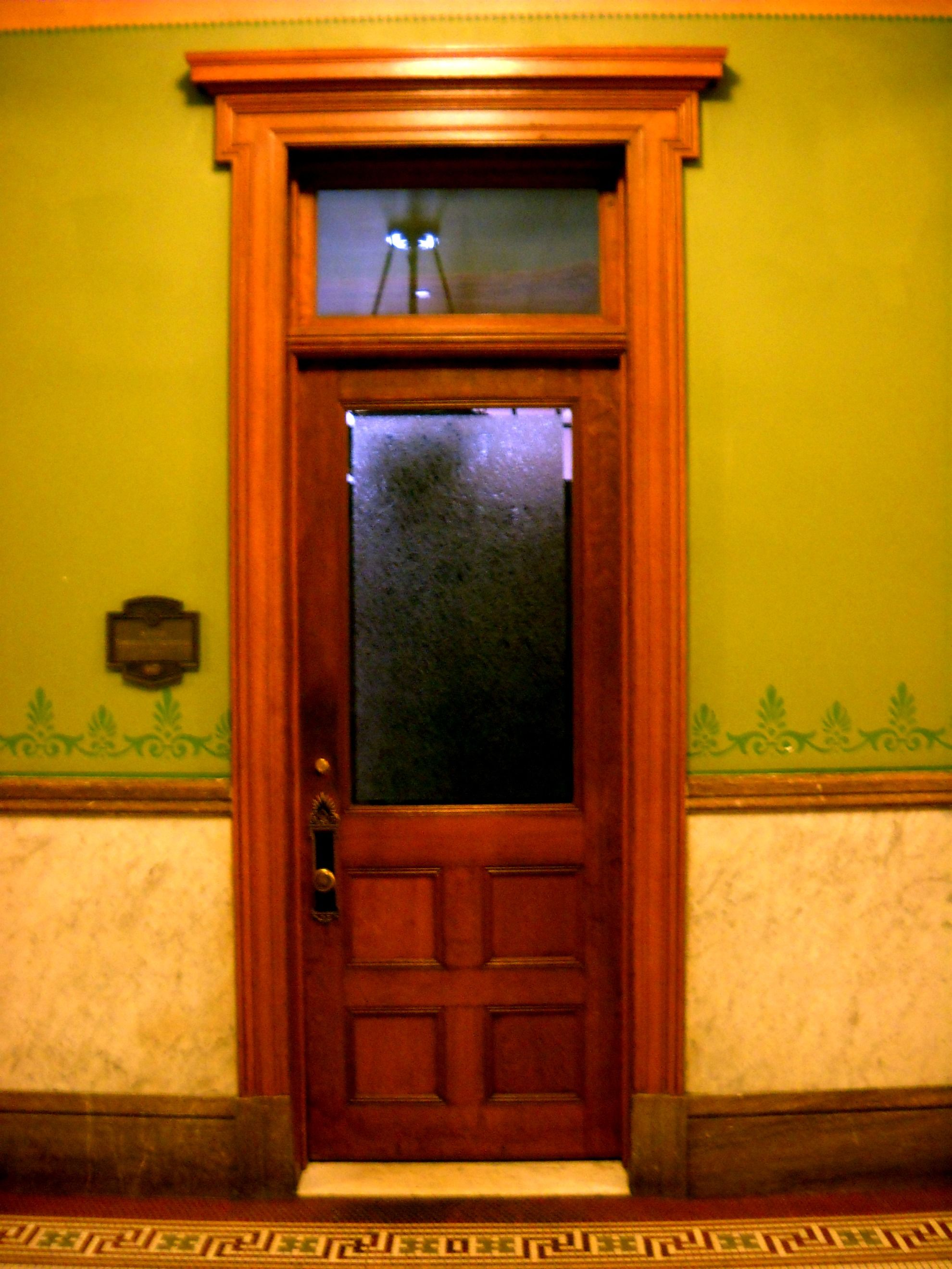 I Like This Door Its Like An Old Lawyer S Or Detective S