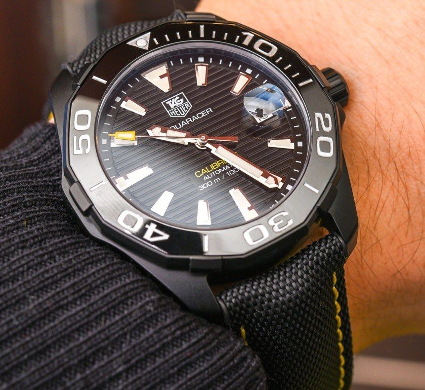 89d258d32b4 TAG Heuer Aquaracer 300M Ceramic Bezel Watch Collection For 2015 Hands-On -  by Zen Love - see the other models in the extensive photo gallery   read  more on ...