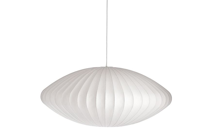 Nelson saucer pendant lamp pinterest pendant lamps pendants nelson saucer pendant lamp not sure which size to hang over staircase aloadofball Image collections