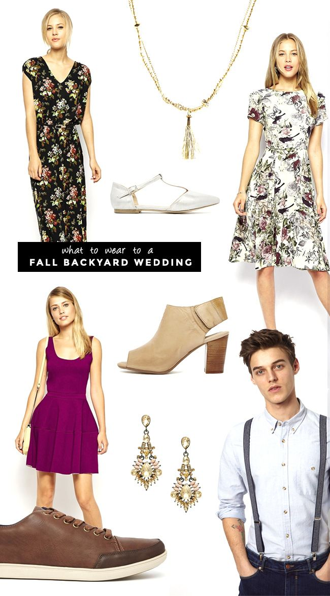 What To Wear For Guests Attending A Fall Wedding