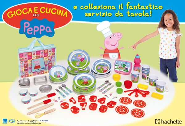 Peppa Pig in cucina, come una vera cakemaniaca! http://www.hachette-fascicoli.it/opere-minisito-abbonati/cucinaconpeppapig.htm?cmp=DEM_cakemania_222