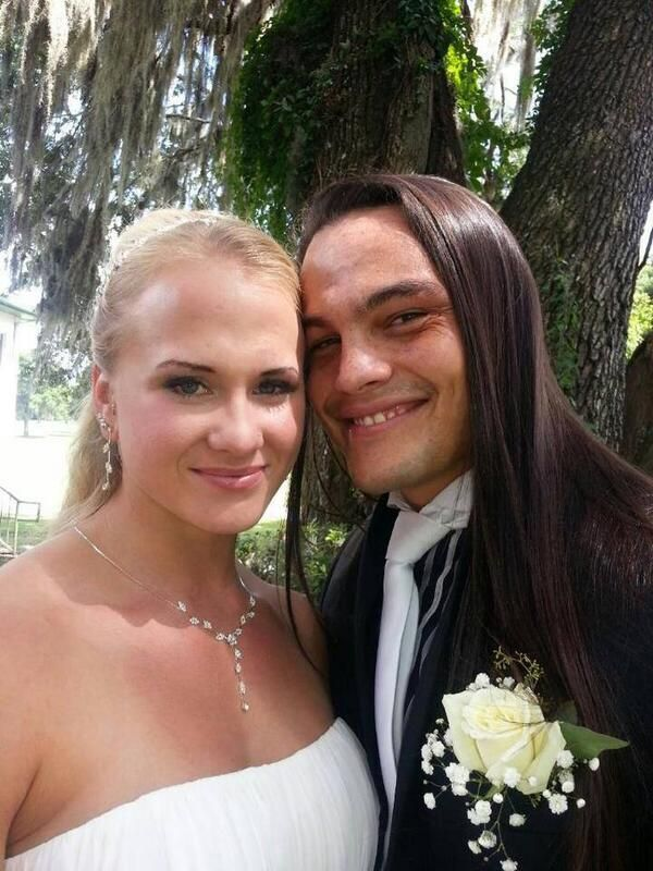Sarah Bäckman (Sarah Rotunda) married Taylor Rotunda (Bo Dallas)