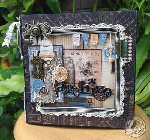 @Sharon Ngoo Turned Our 8x8 Matchbook Box Staples Into A