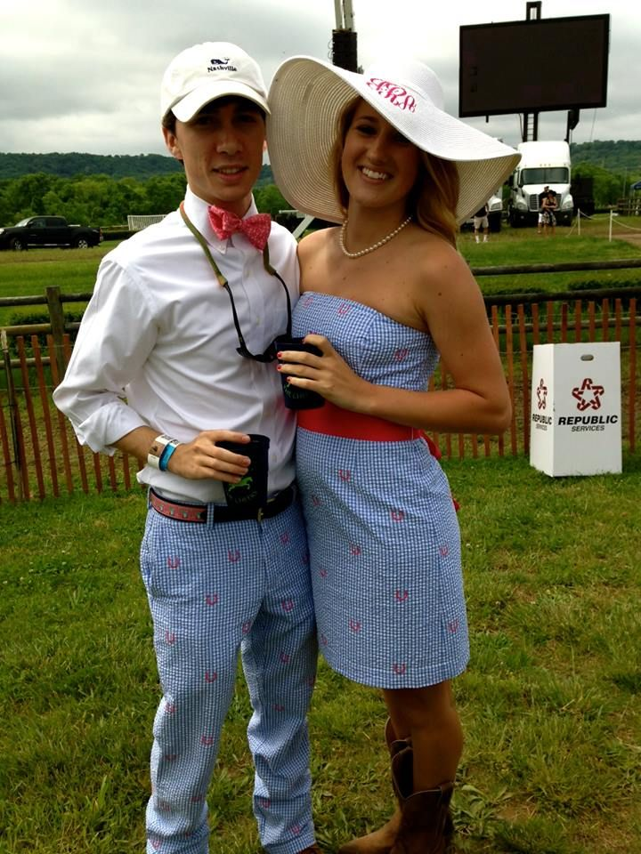 Matching Vineyard Vines Outfits For Iroquois Steeplechase