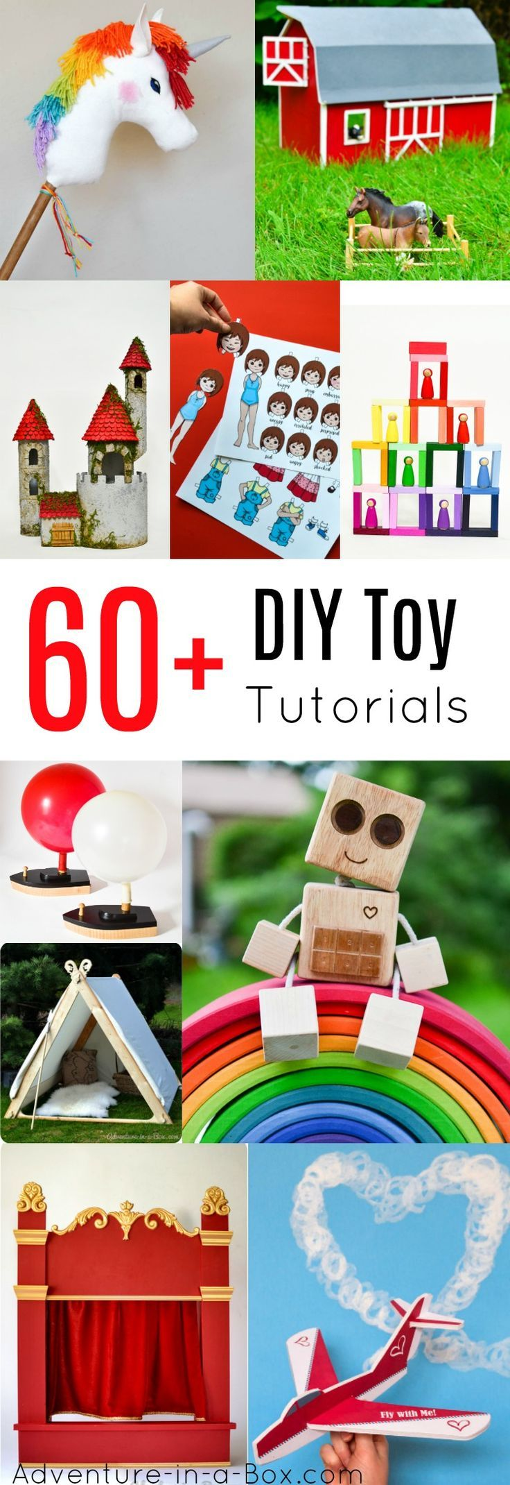 BEST HANDMADE TOYS TO MAKE FOR KIDS #handmadetoys