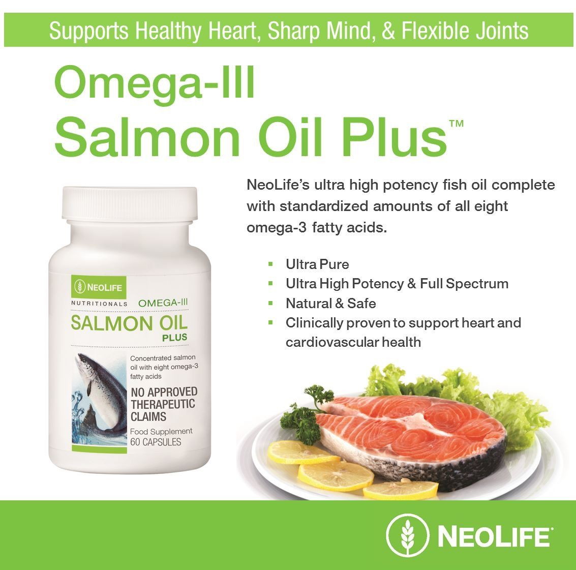 Pin By Dovilė Varnienė On Neolife Natural Health Supplements Salmon Oil Supplement Natural Supplements