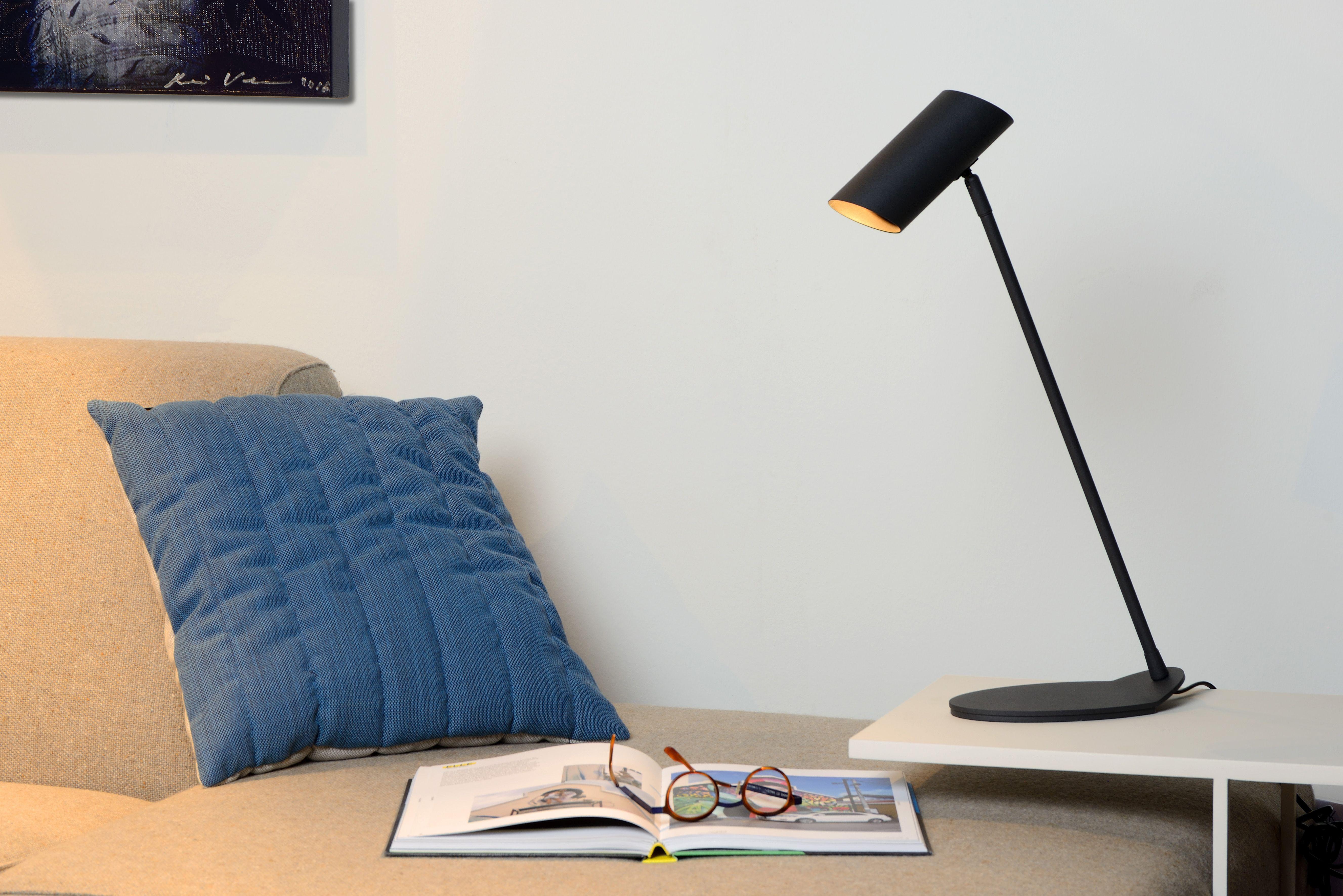 Lucide Hester Desk Lamp Gu10 Anthracite Bureaulamp