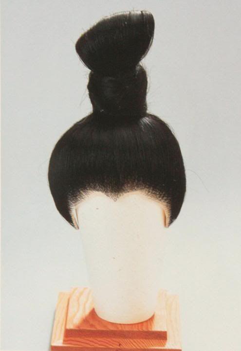 Японские прически. Исторический обзор. 1-я часть.   Japan ...