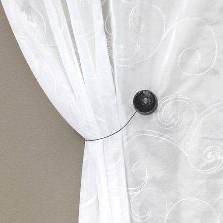 Better Homes And Gardens Reversible Magnetic Curtain Holdback 1