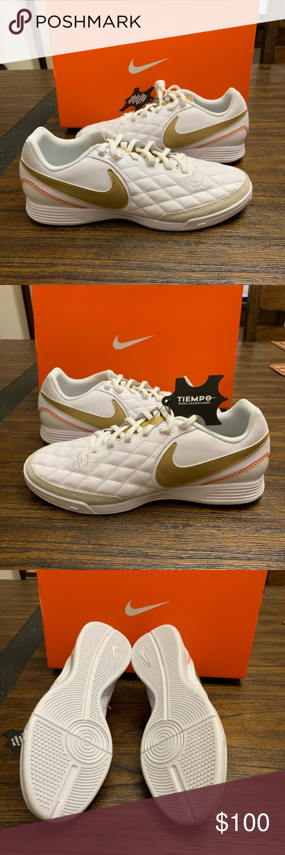 Nike Tiempo Finale X 10 R Indoor Soccer Shoes Bran New Special Edition Rolandinho Indoor Soccer Shoes 100 Percent Authentic Nike My Posh Closet Soccer Shoes Indoor Soccer Soccer