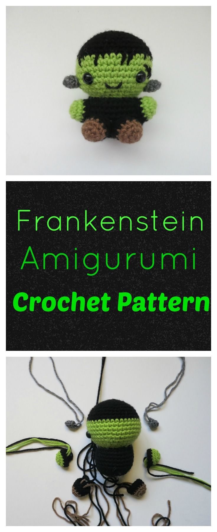 Frankenstein Amigurumi Pattern (scheduled via http://www.tailwindapp ...