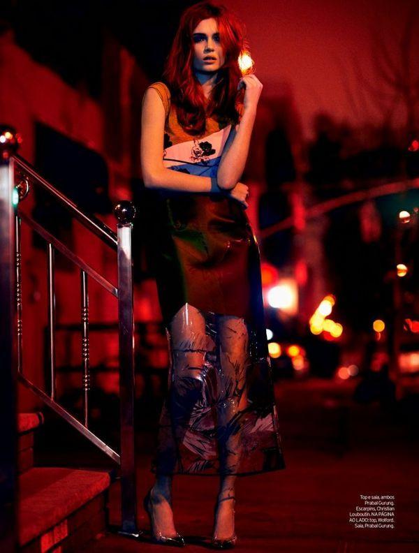 Harper's Bazaar China January 2014