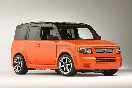 As If The Color Orange Weren T Reason Enough Honda Element