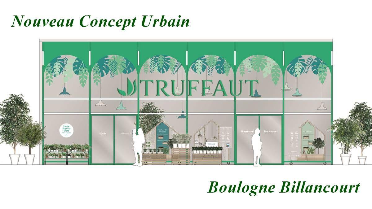 ile de france truffaut ouvre son nouveau concept de jardinerie urbaine jardinerie animalerie. Black Bedroom Furniture Sets. Home Design Ideas