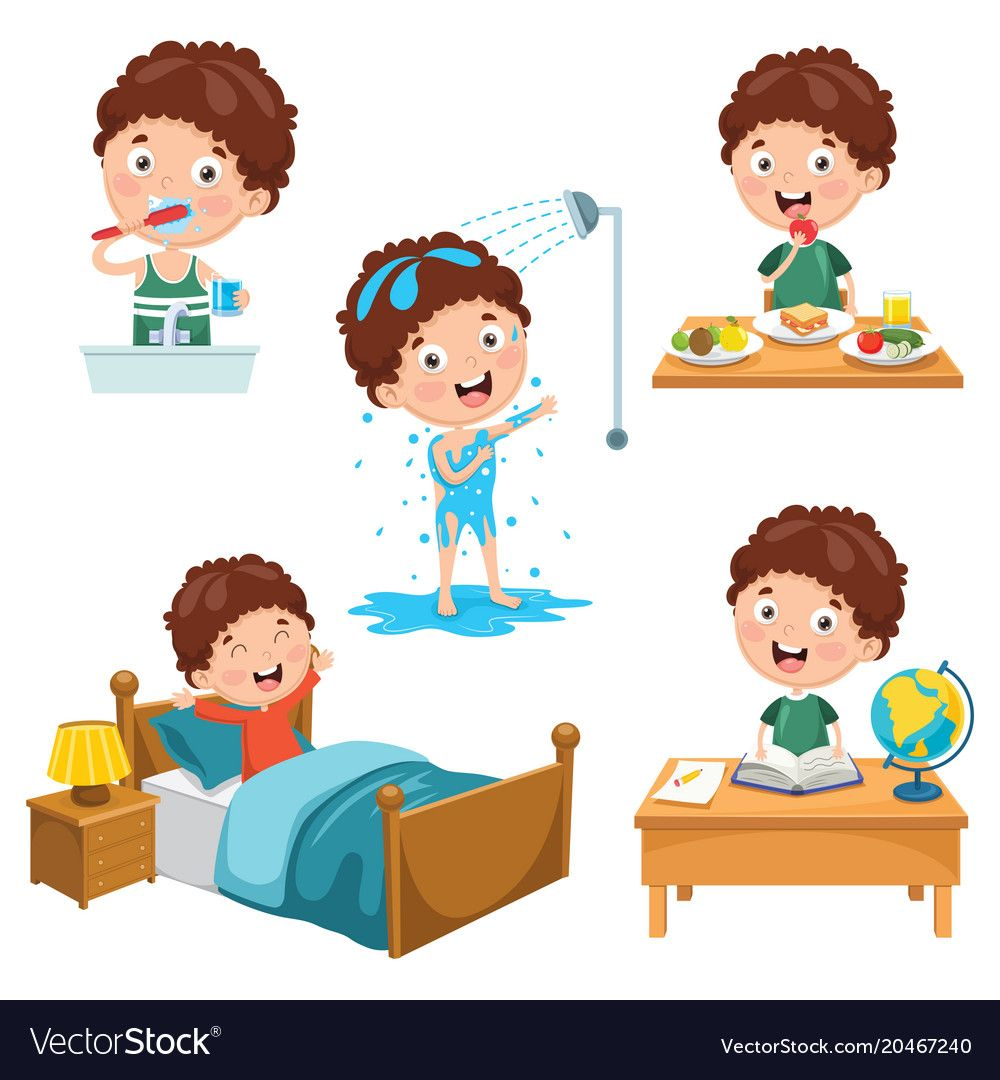 childs daily activities - HD1000×1080