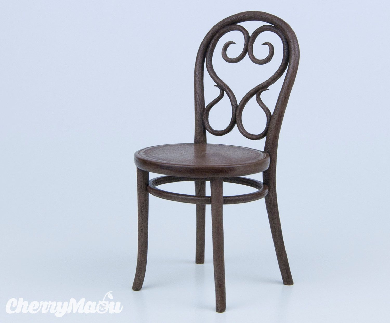 Thonet Chair N14 Scale 1 6 3d Print Miniature For Diorama Dollhouse Decoration