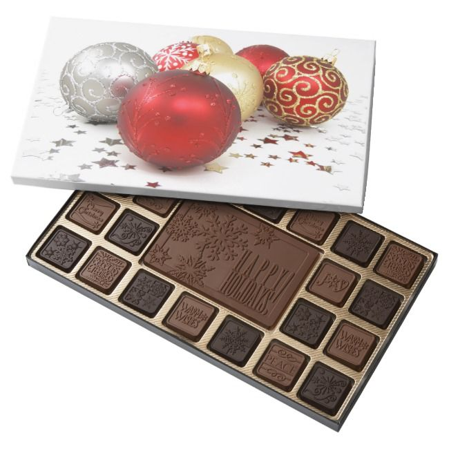 Holiday Box of Belgium Chocolates    Holiday Box of Belgium Chocolates